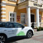 Elektryczne samochody parkowały na Rynku